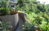 casa ponte outside-landscaping